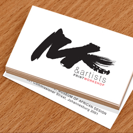 mkartists businesscards
